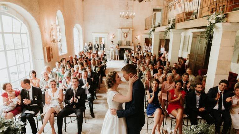 cérémonie mariage au chateau de Boucq