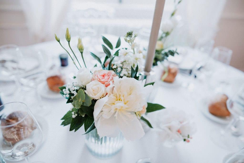 décoration de table pour mariage à Bordeaux.