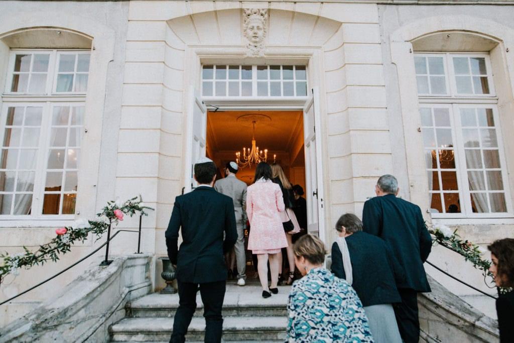 diner soirée de mariage au chateau de vandeleville.