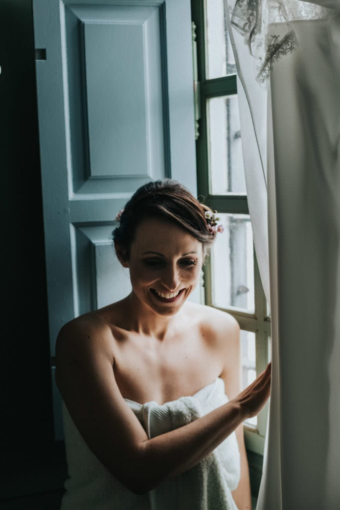 preparatifs mariage au chateau de boucq
