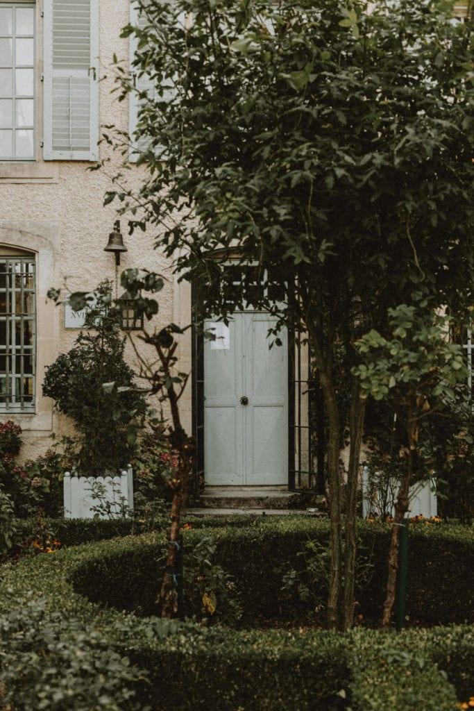 porte d'entrée chateau de boucq