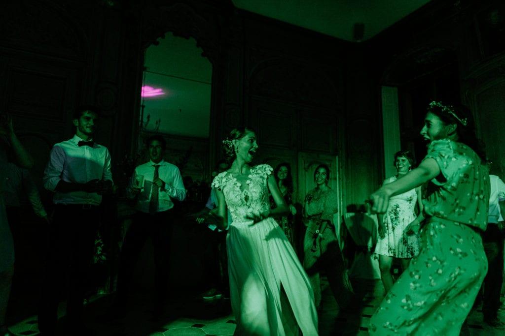 dancefloor de mariage au chateau de saulxures les nancy
