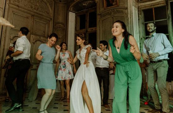 mariée qui danse au chateau de saulxures-les-nancy