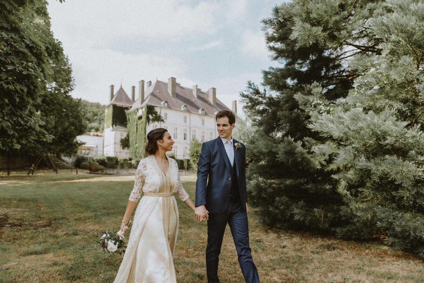 Photographe mariage chateau de Vandeleville