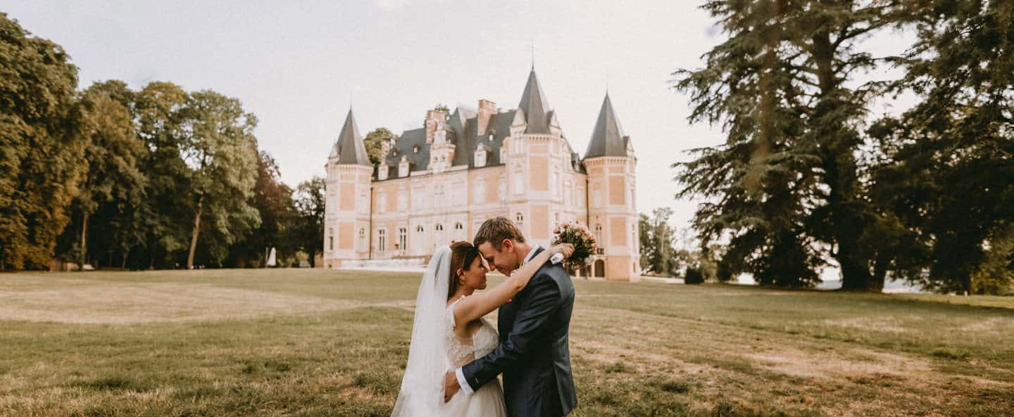 mariage chic chateau d'azy