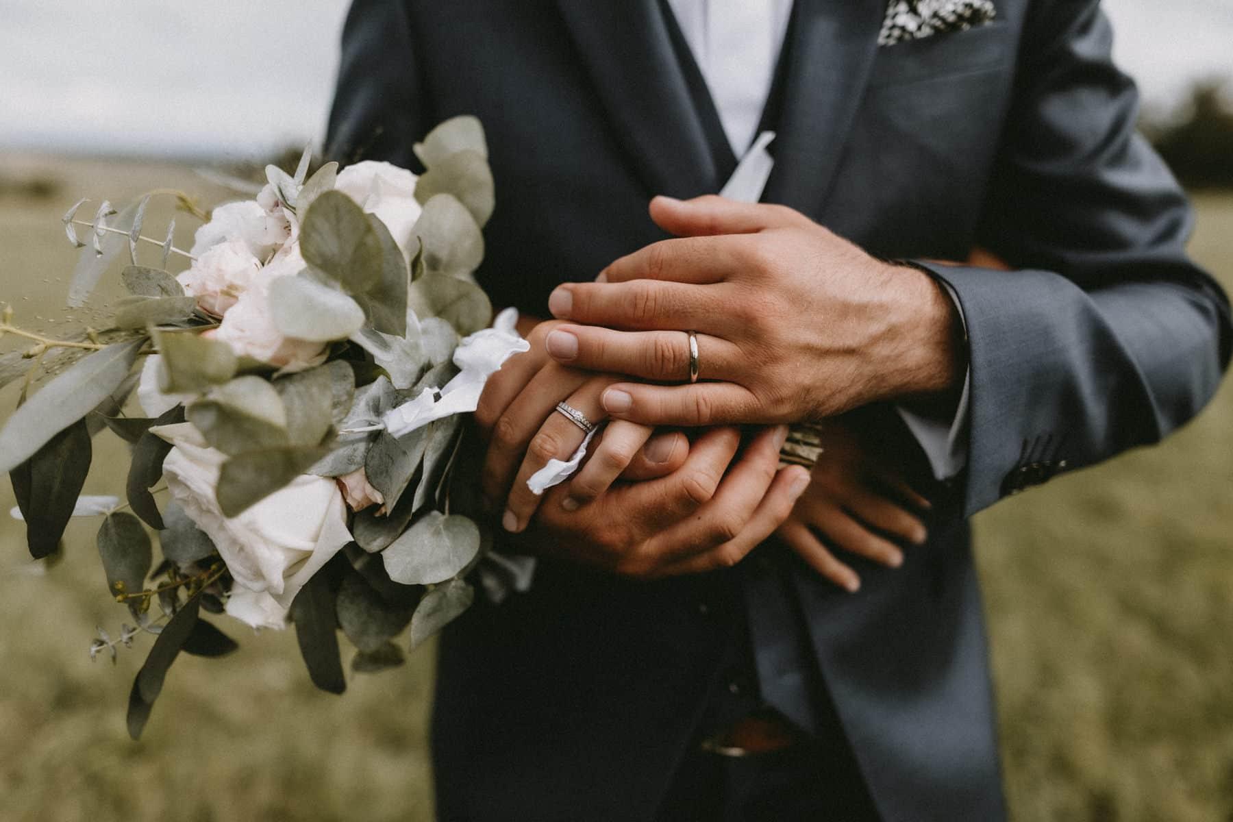 alliances mariage au chateau de canon
