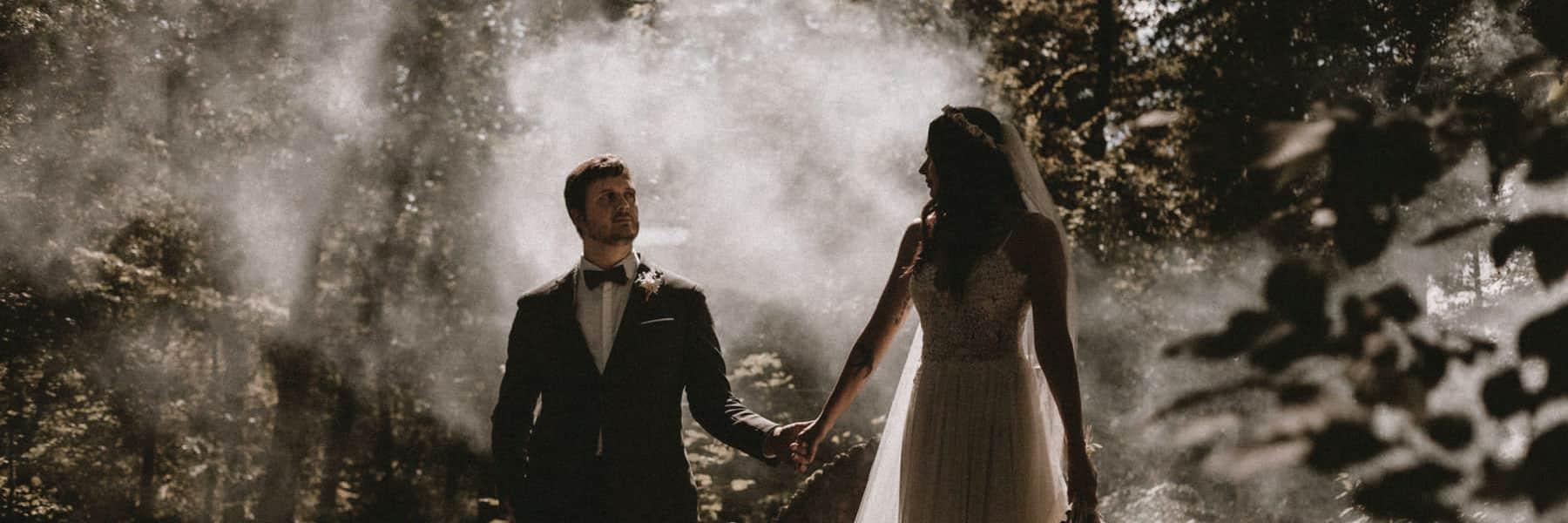 couple de mariés à Orleans