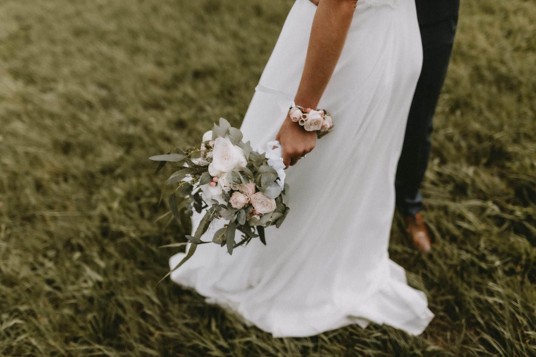 bouquet de fleurs de mariée Venejean