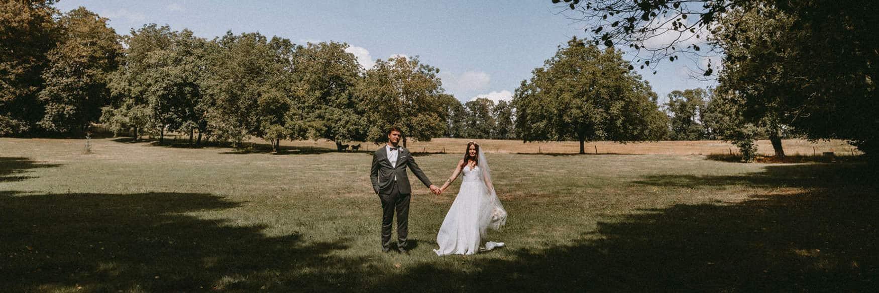 photographe mariage au domaine de la Traxene