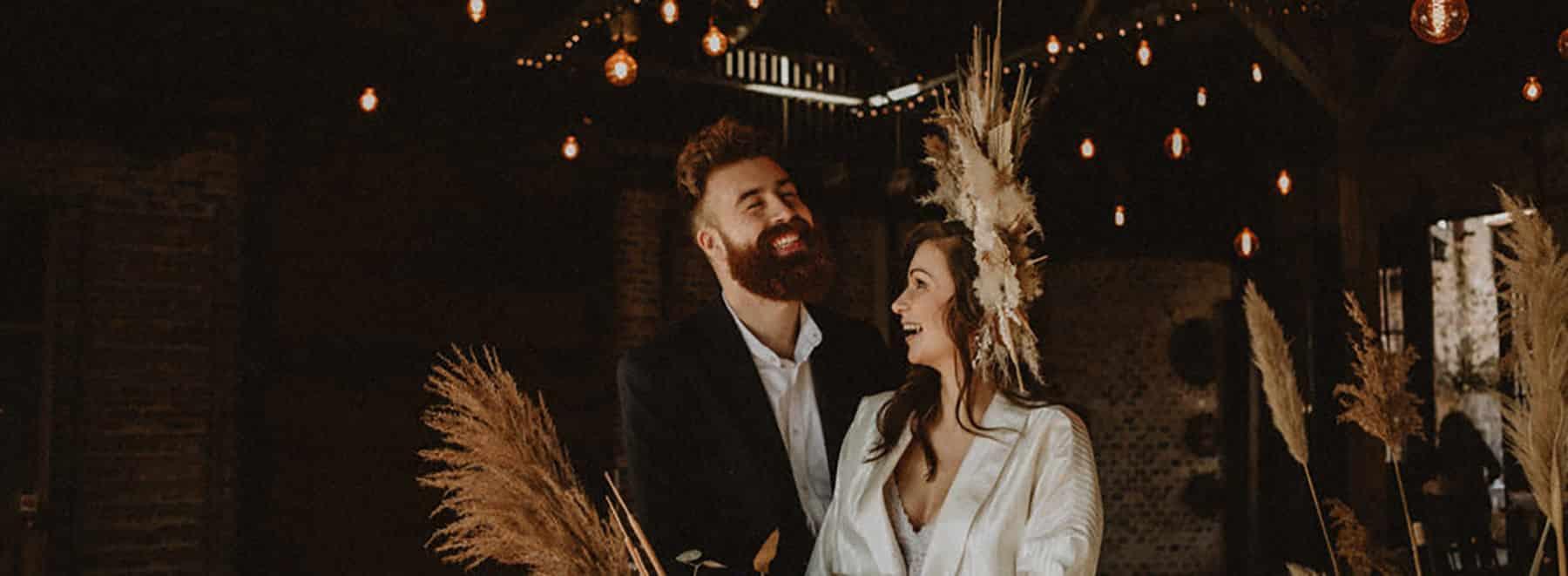 couple marié bastide de Fangouse